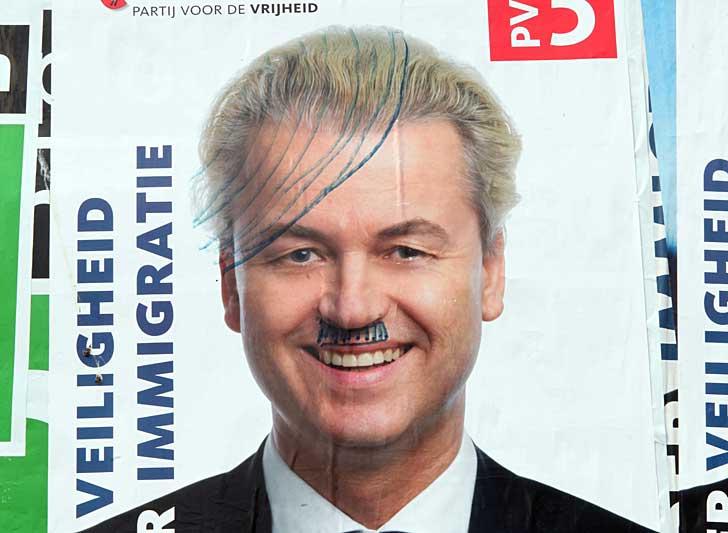 En holländsk valaffisch med Geert Wilders från sommaren 2010. Foto: Joost J. Bakker IJmuiden/flickr
